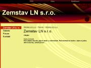 WEBOVÁ STRÁNKA Zemstav LN s.r.o.