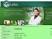 WEBOVÁ STRÁNKA LEBO, s.r.o.