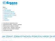 WEBOVÁ STRÁNKA Ergona Opava s.r.o.
