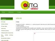 WEBOVÁ STRÁNKA ALMA-reklama s.r.o.