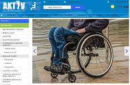 WEBOVÁ STRÁNKA AKTIV Zdravotnické potřeby s.r.o. Prodej, půjčovna zdravotní pomůcky Písek
