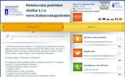 WEBOVÁ STRÁNKA Holešovská pohřební služba s.r.o. www.holesovskapohrebnisluzba.cz