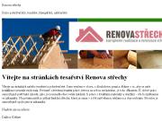 WEBOVÁ STRÁNKA Renova st�echy; Dalibor Kellner