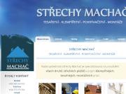WEBOVÁ STRÁNKA St�echy - MACHA� s.r.o
