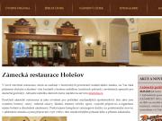 WEBOVÁ STRÁNKA Zámecká restaurace Holešov