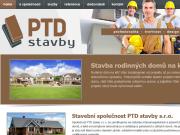 WEBOVÁ STRÁNKA PTD stavby s.r.o.