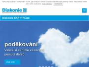 WEBOVÁ STRÁNKA Diakonie ČCE - Středisko křesťanské pomoci v Praze