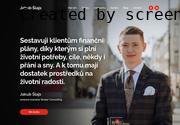 WEBOVÁ STRÁNKA Finanční poradenství Prostějov Jakub a Martin Šlajsovi