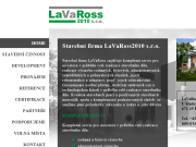 WEBOVÁ STRÁNKA LaVaRoss2010 s.r.o.