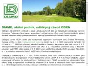 WEBOVÁ STRÁNKA DIAMO, státní podnik - odštěpný závod ODRA