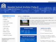 WEBOVÁ STRÁNKA Stavební bytové družstvo Praha 8 Správa, údržba, opravy bytů a domů