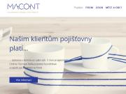 WEBOVÁ STRÁNKA MACONT GROUP s.r.o.