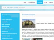 WEBOVÁ STRÁNKA THERAP-TILIA spol. s r.o., pracovi�t� v Praha 4