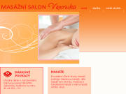 WEBOVÁ STRÁNKA Veronika Vítová Masážní salon Plzeň