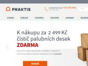 WEBOVÁ STRÁNKA Praktis e-shop Vše pro dům, byt, zahradu