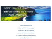 WEBOVÁ STRÁNKA MUDr. Helena ENŽLOVÁ