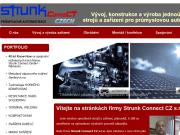 WEBOVÁ STRÁNKA Strunk Connect CZ s.r.o.