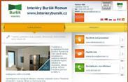 SITO WEB Interiery Bursik Roman www.interierybursik.cz