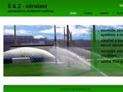 WEBOVÁ STRÁNKA Š & Z - sdružení Automatické závlahové systémy Praha