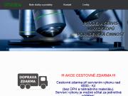 WEBOVÁ STRÁNKA Optimikro - Josef Karlovský Servis a prodej mikroskopy - kolposkopy