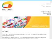 WEBOVÁ STRÁNKA Top Press Překlady a tlumočení