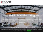 WEBOVÁ STRÁNKA EFIDEX Company, s.r.o.