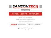 WEBOVÁ STRÁNKA Samsontech Josef Samson