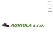 WEBOVÁ STRÁNKA AGRIOLA s.r.o.