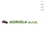SITO WEB AGRIOLA s.r.o.