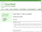 WEBOVÁ STRÁNKA FeelWell Proteinov� dieta