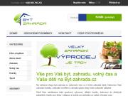 WEBOVÁ STRÁNKA FAVOUR Czech, s.r.o. byt-zahrada.cz