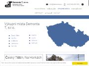 WEBOVÁ STRÁNKA Demonta T, s.r.o. Výkup železa Dětmarovice