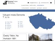 WEBOVÁ STRÁNKA Demonta T, s.r.o. Sběrné suroviny Karviná