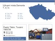 WEBOVÁ STRÁNKA Demonta T, s.r.o. Ekologická likvidace autovraků Ostrava