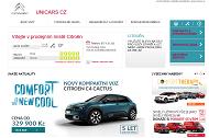 WEBOVÁ STRÁNKA Citroën Zlín UNICARS CZ s.r.o.