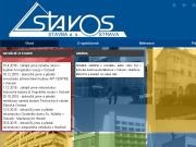 WEBSITE Stavos Stavba a.s. Ostrava
