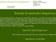 WEBOVÁ STRÁNKA Zelenina Kupařovice Jiří Kratochvíl