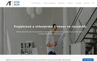 WEBOVÁ STRÁNKA ATOM - ATELIÉR s.r.o. Projekční kancelář