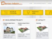 WEBOVÁ STRÁNKA BERTURA industry a.s.