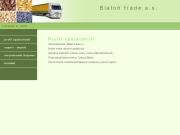WEBOVÁ STRÁNKA Bialoň trade, a.s.