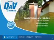 WEBOVÁ STRÁNKA DaV system, s.r.o.