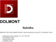 WEBOVÁ STRÁNKA Dolmont Energo, s.r.o.