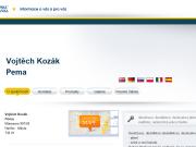 WEBOVÁ STRÁNKA Vojt�ch Koz�k Pema