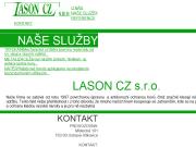 WEBOVÁ STRÁNKA Lason CZ s.r.o.