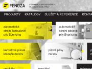 WEBOVÁ STRÁNKA FENOZA s.r.o.
