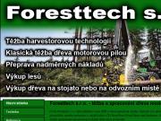 WEBOVÁ STRÁNKA Foresttech, s.r.o.