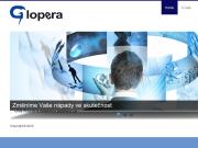 WEBSITE GLOPERA spol. s r.o.