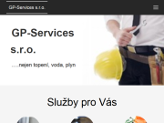 WEBOVÁ STRÁNKA GP-Services, s.r.o.