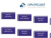 WEBOVÁ STRÁNKA HPN projekt s.r.o.