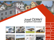 WEBOVÁ STRÁNKA Ing. arch. Josef Černý - Projekční kancelář